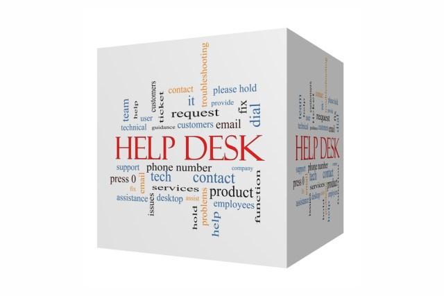 Help desk ticket system