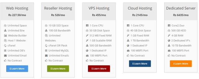 milesweb hosting plans