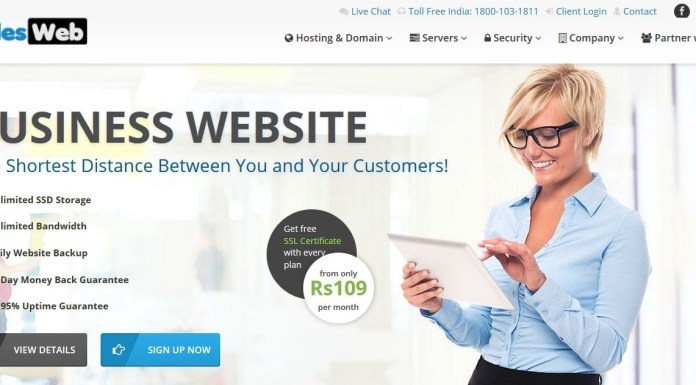 Milesweb - web hosting plans and pricing