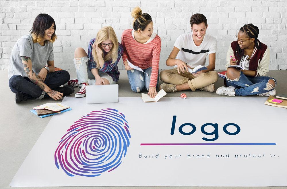 The unique logo designs