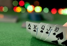 Bluffing in Online poker game