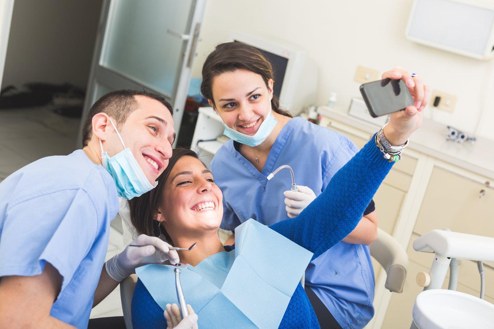 Unique content for dental website