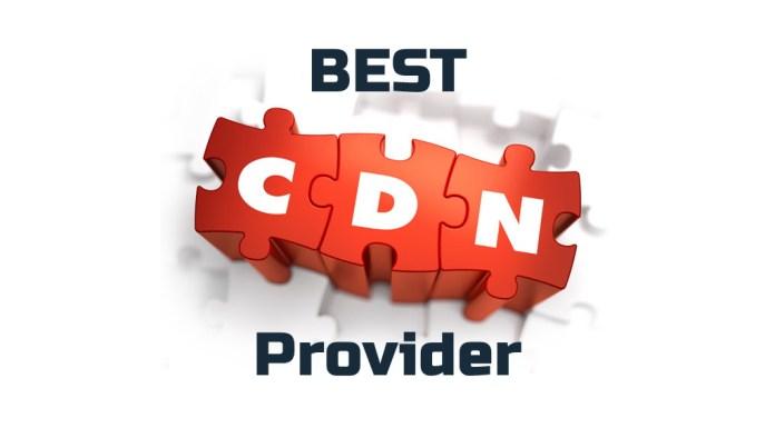 Find best CDN provider