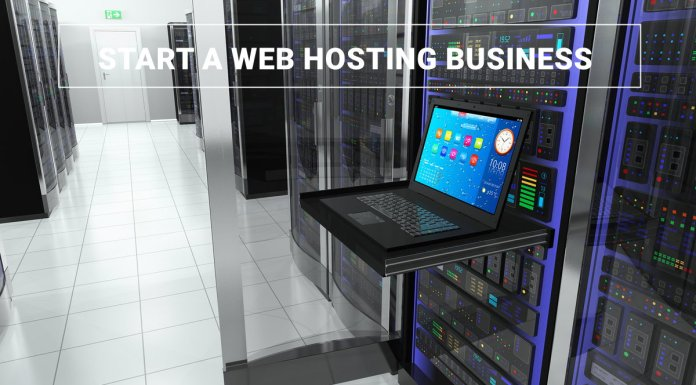 Start web hosting business