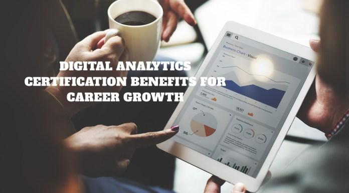 Digital analytics certification