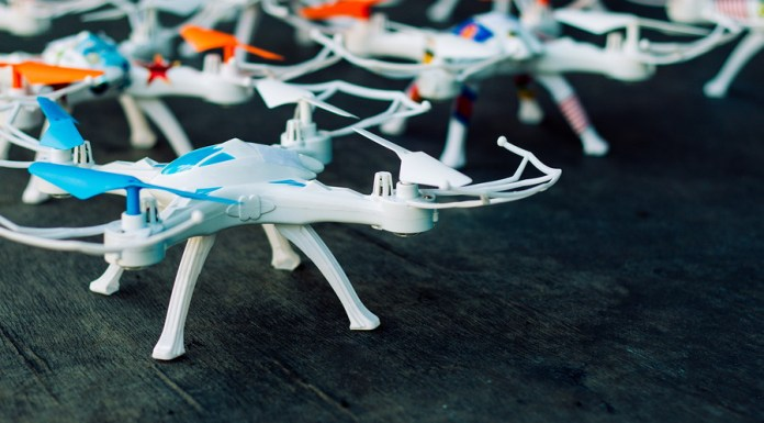 Build your own drone with a quadcopter kit