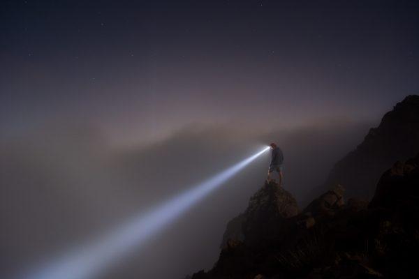 rechargeable headlamp flashlight