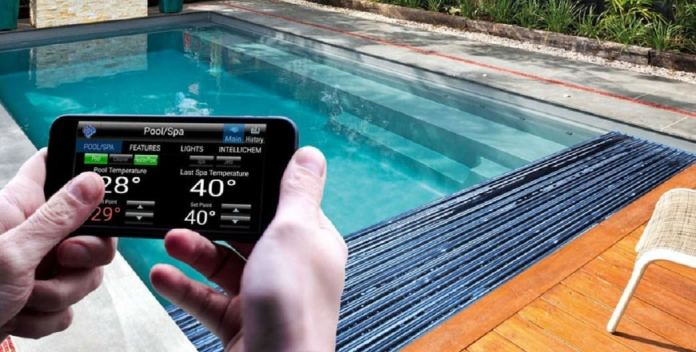 automation system for pool