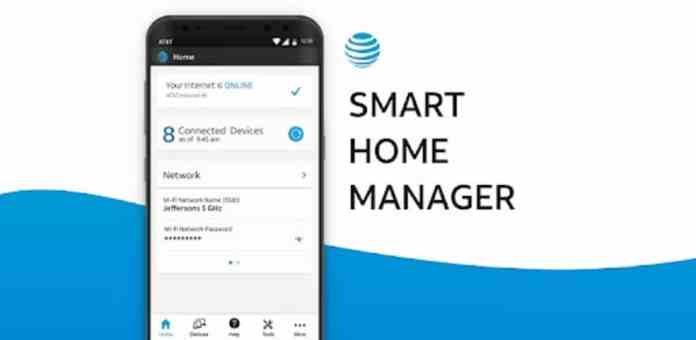 manage your home with smart home manager