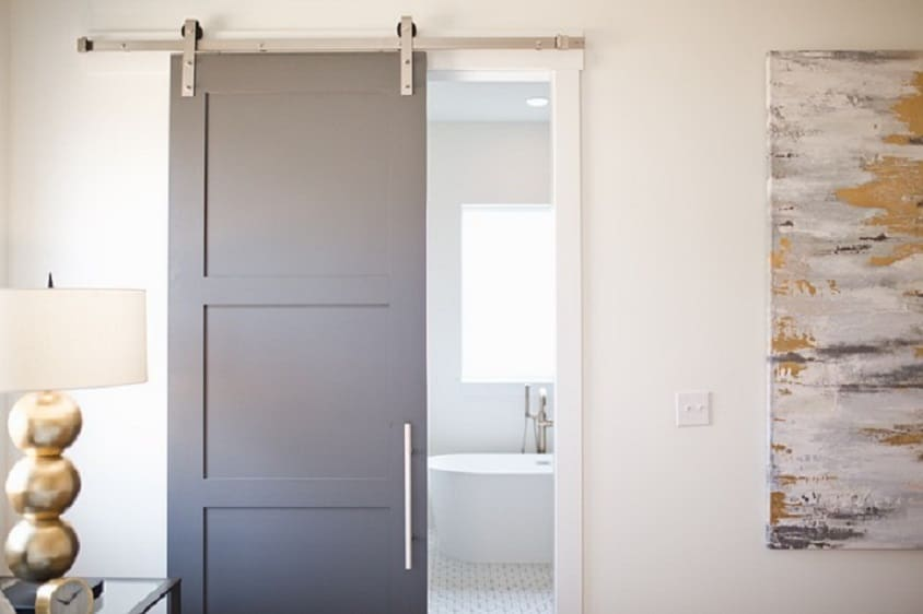 Innovative Ideas of bath room doors
