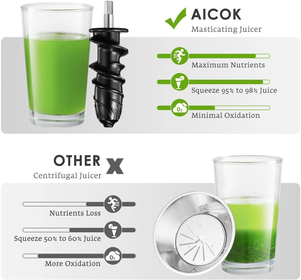 juice maker for vegetables