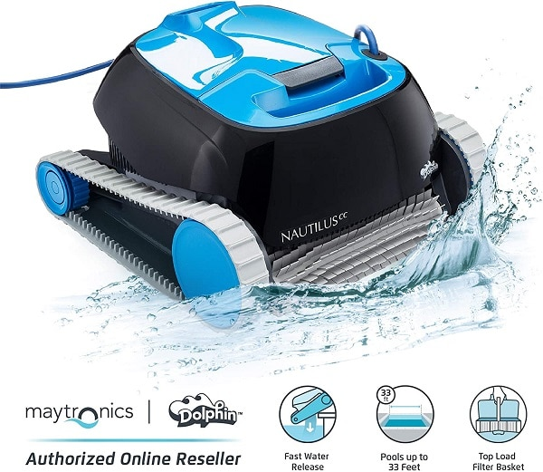 Dolphin CC automatic robotic pool cleaner