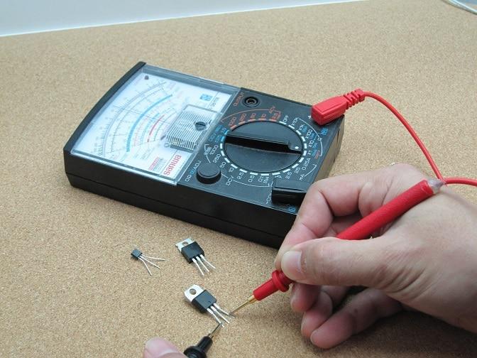 Multimeter for electronics technicians
