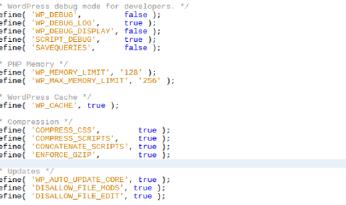 Useful Configuration