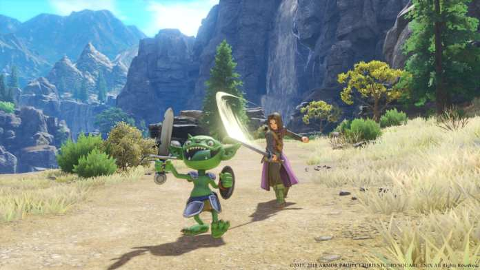 Screenshot from Dragon Quest XI: Echoes of an Elusive Age