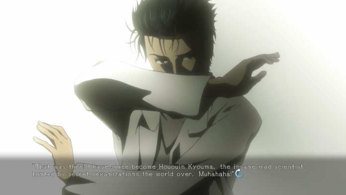Screenshot from Steins;Gate Elite