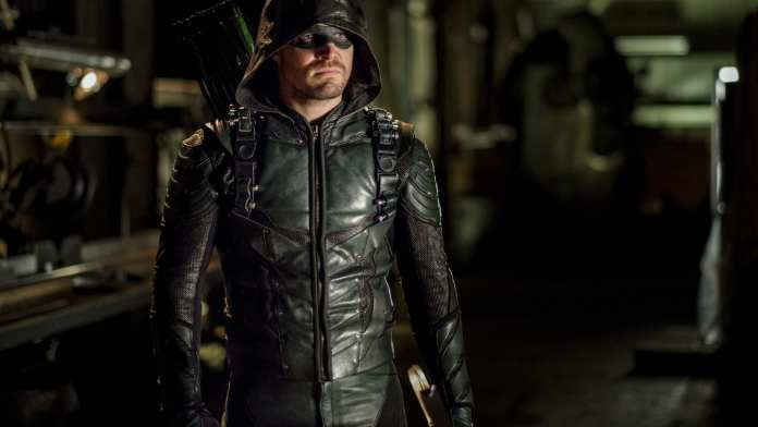 Oliver Queen as the Green Arrow