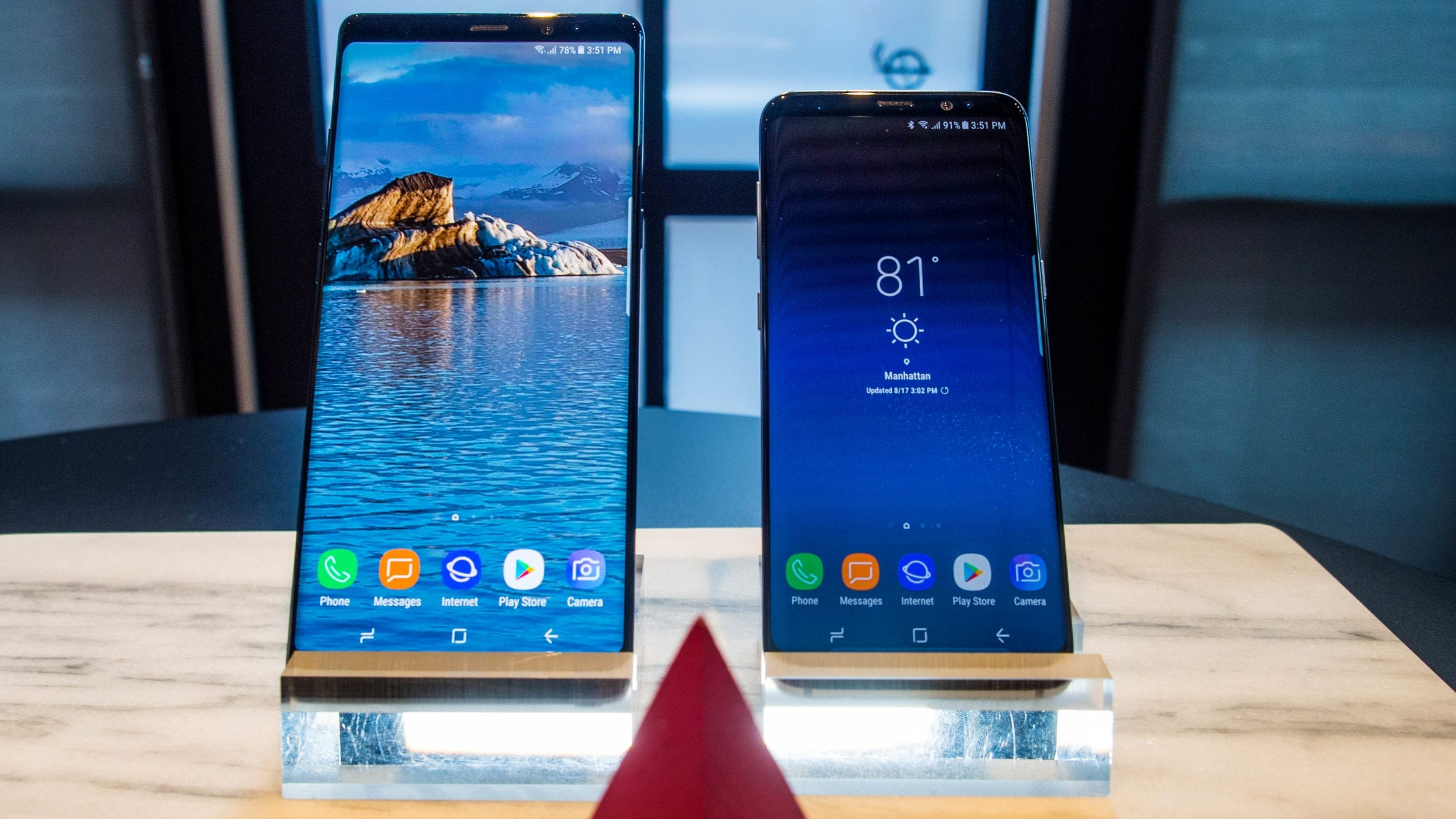 More pictures of the upcoming Samsung Galaxy Note 9 leak online