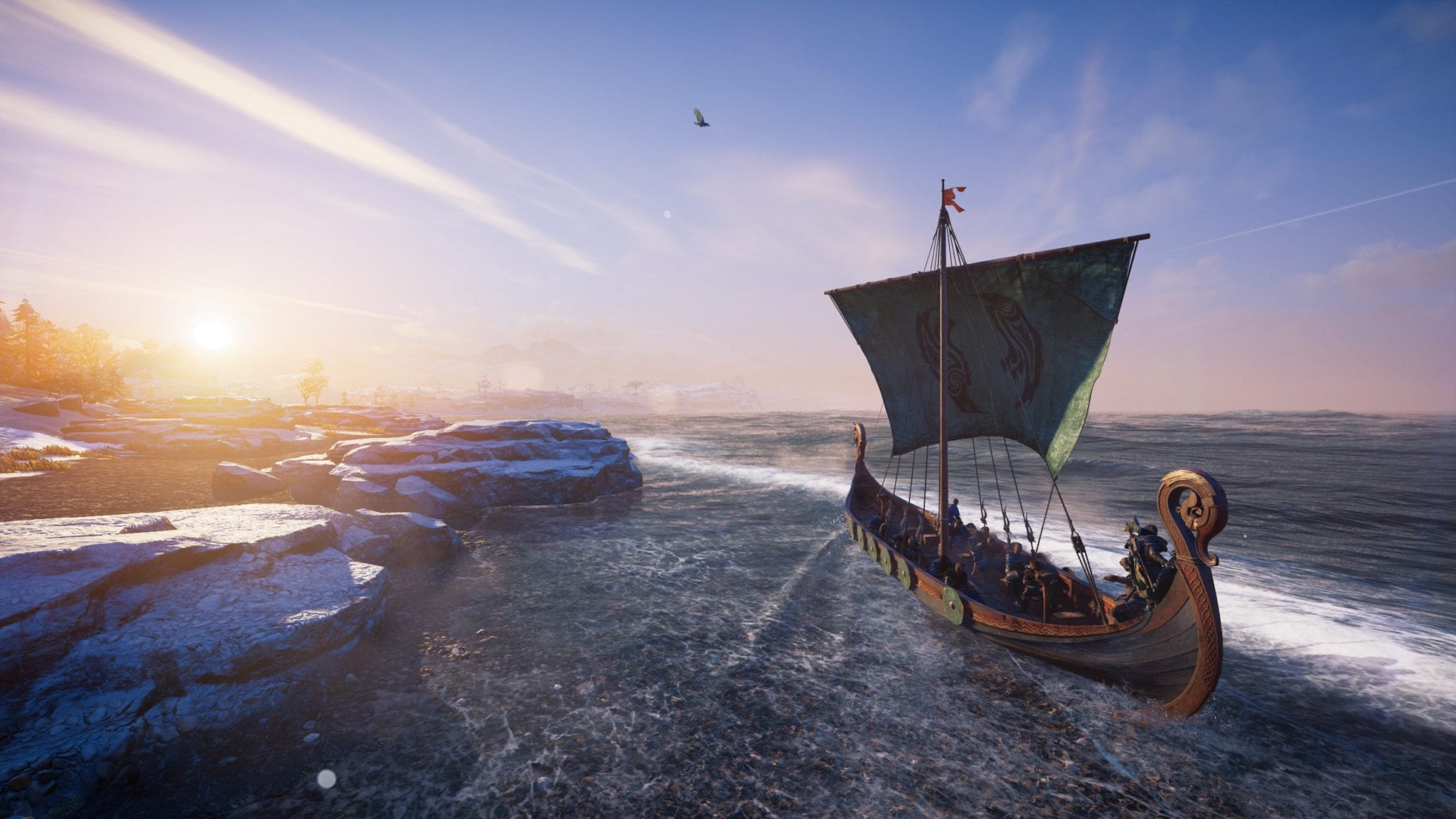 Longboat Exploration in Assassin's Creed Valhalla