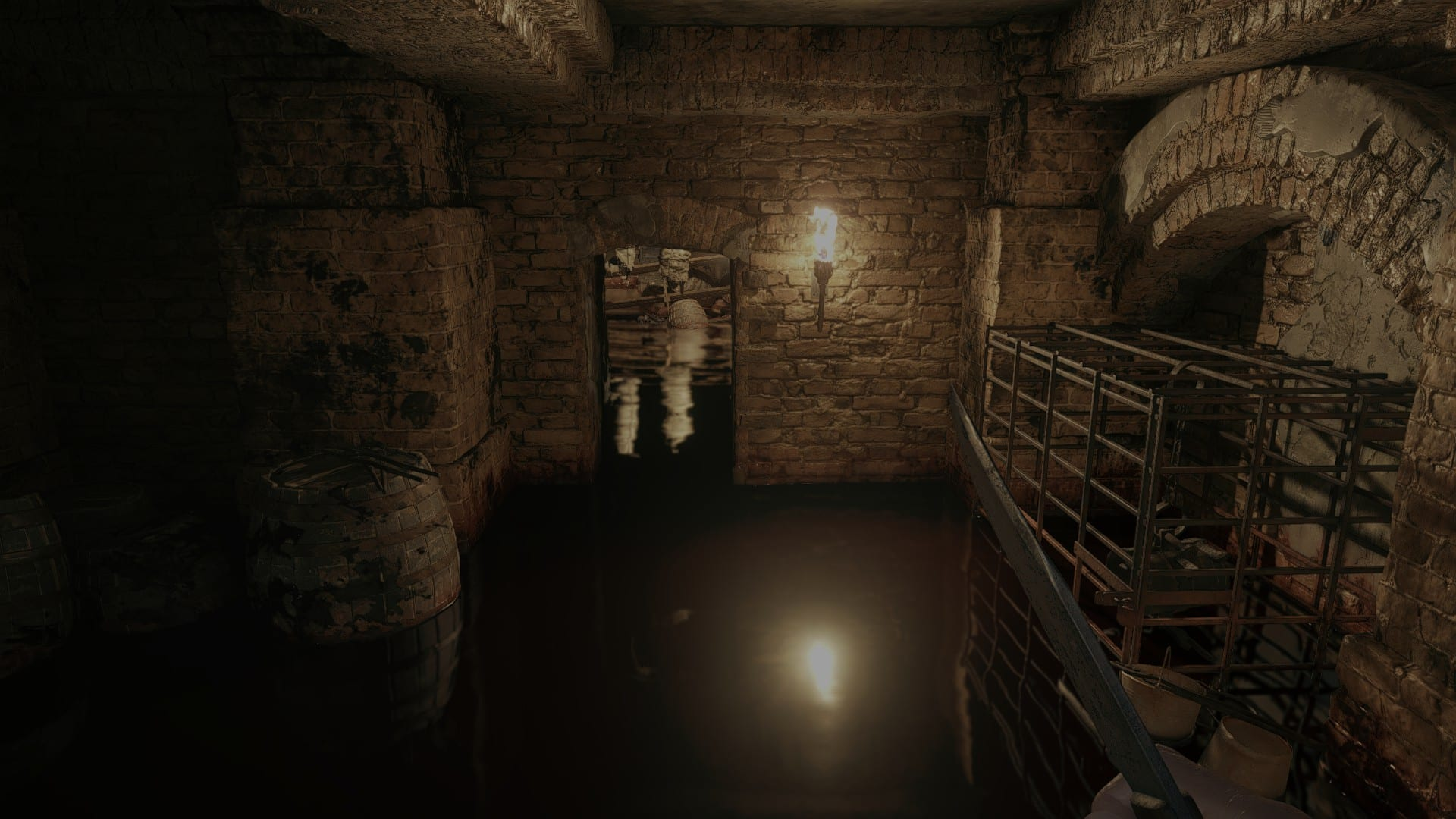 Resident Evil Village Water Ray Tracing High