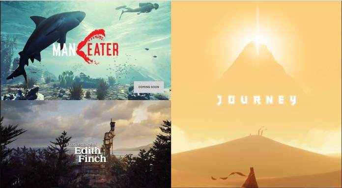 Journey on Epic Games Store