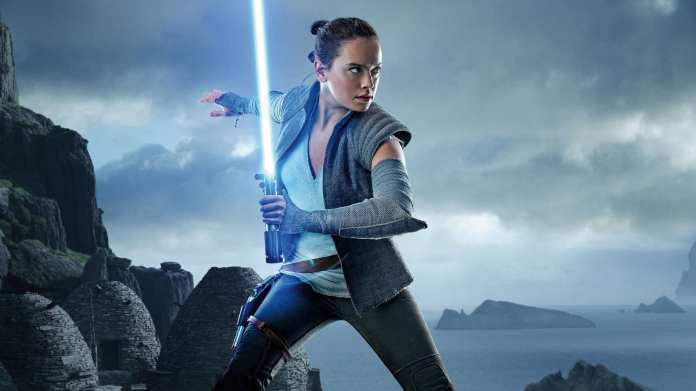 Daisy Ridley as Rey in Star Wars Movies
