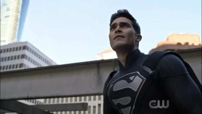 Tyler Hoechlin's Superman in Elseworlds