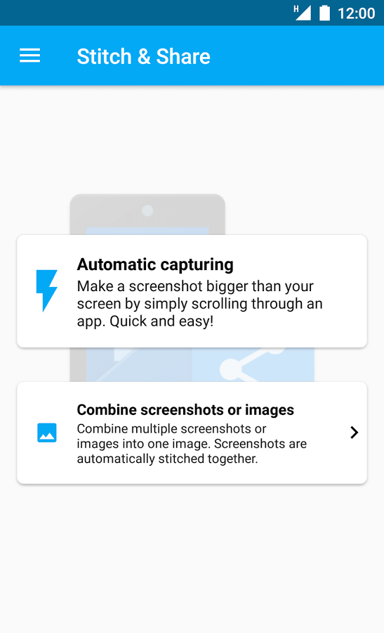 Stitch and Share - Big Screenshot 1