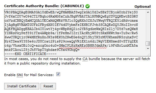 Certificate Authority Bundle CA Bundle