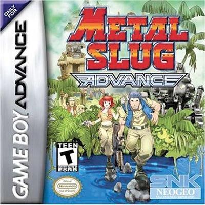 Metal Slug Advance Game Boy Advance Games