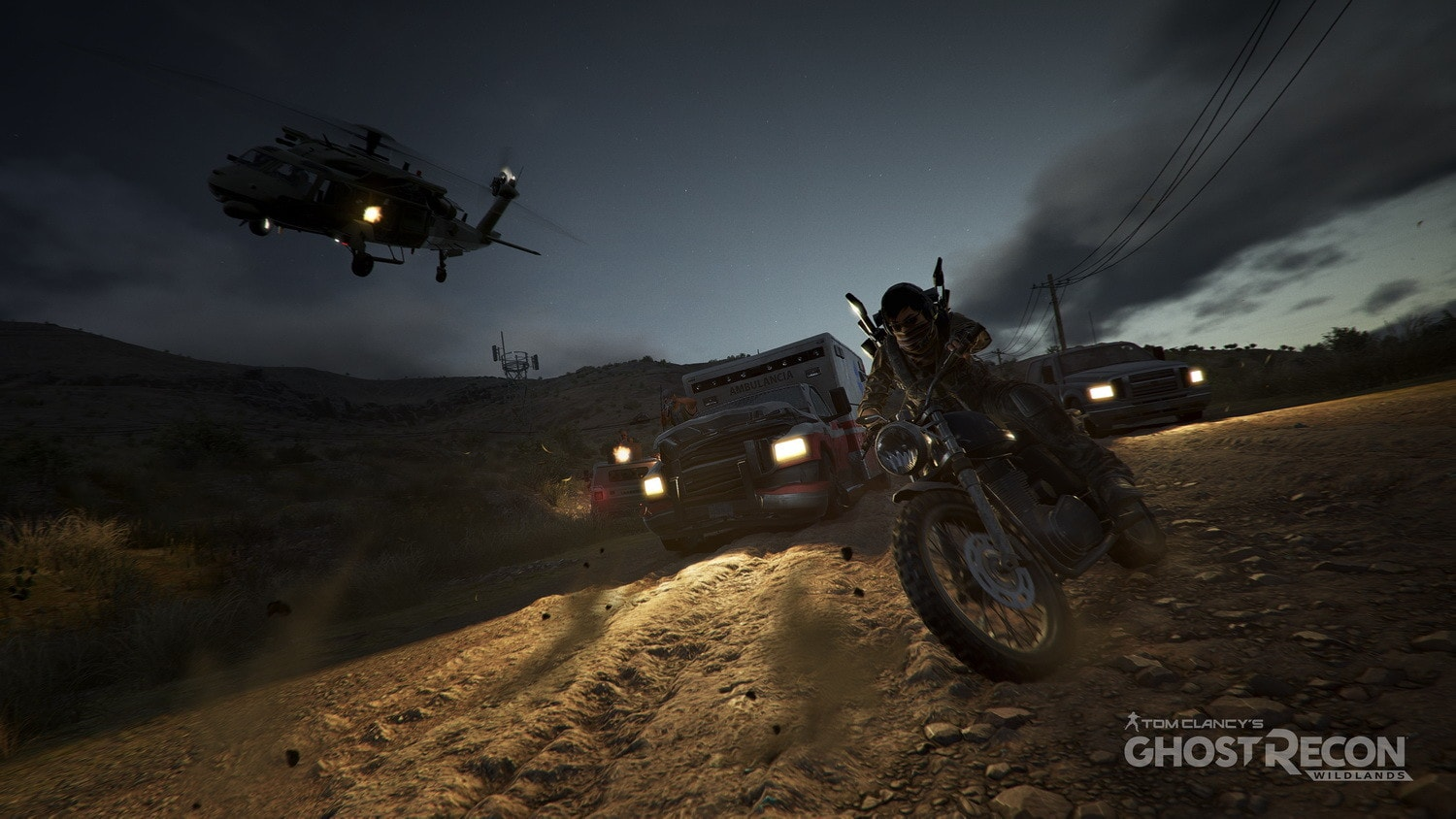 Tom Clancy's Ghost Recon Wildlands Vehicles
