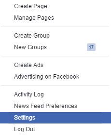 Deactivating Facebook Account