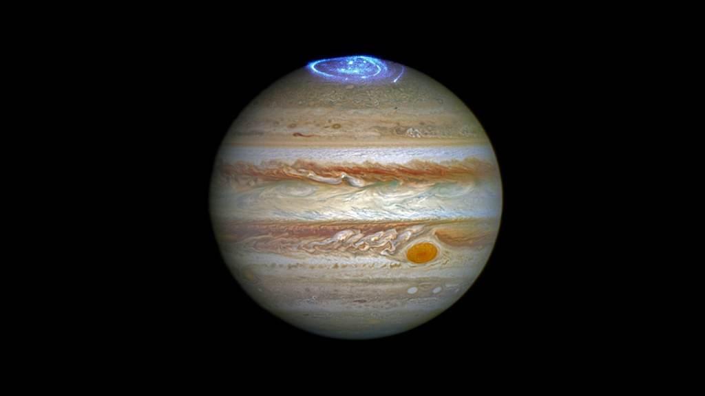 NASA Hubble Telescope Jupiter Picture 1
