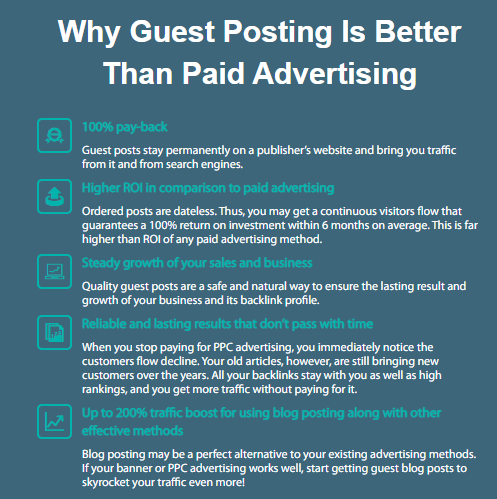 guest post better than paid advertisement