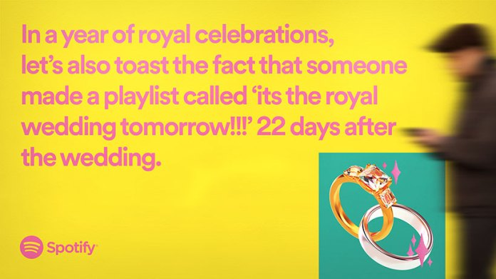 Spotify's year-end campaign celebrates weird playlists, from