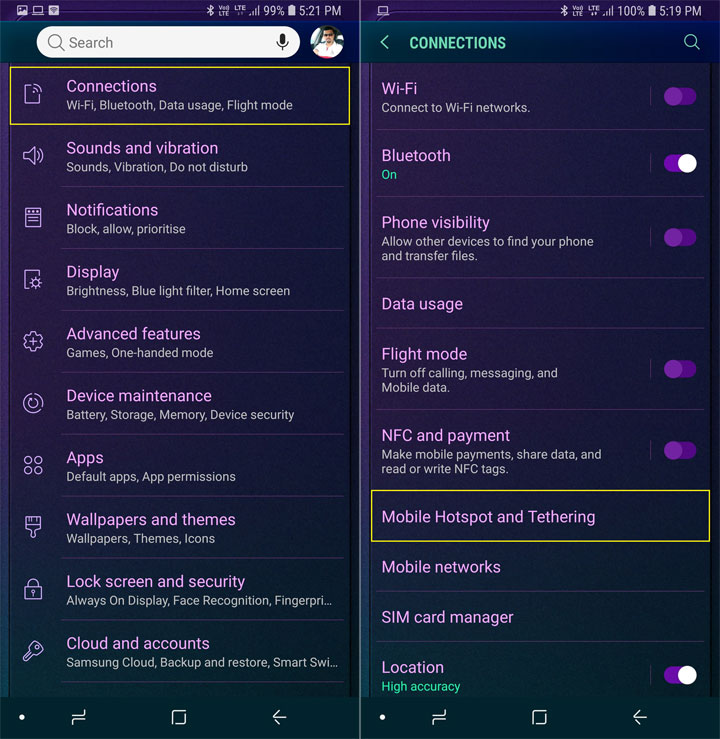 Set up WiFi Hotspot on Android Devices and Use It - Tutorial