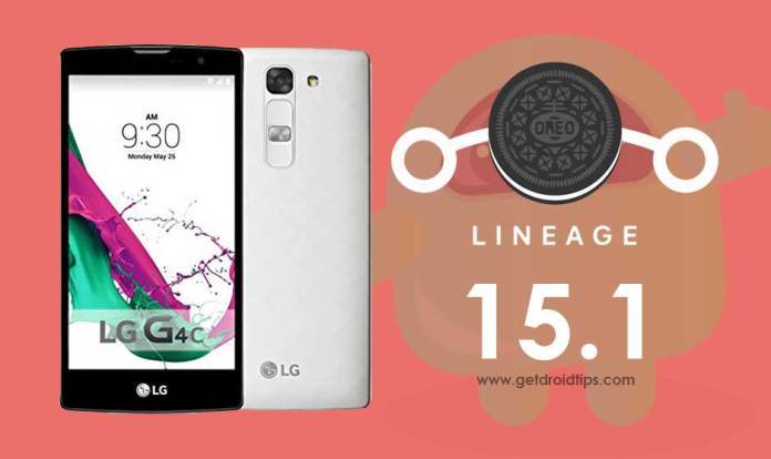 Download Lineage OS 15.1 on LG G4c based Android 8.1 Oreo