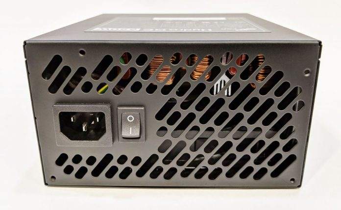 FSP Hydro GE 650W PSU Back