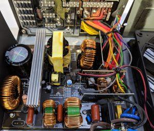 FSP Hydro GE 650W PSU Inside