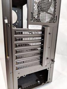 Cooler Master NR600 Case Back Expansion Slots