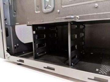 Cooler Master NR600 Case Inside HDD Mounts