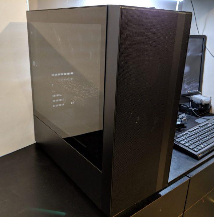 Cooler Master NR600 Case Built Clean