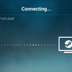 Connecting to host PC using Steam Link Anywhere.
