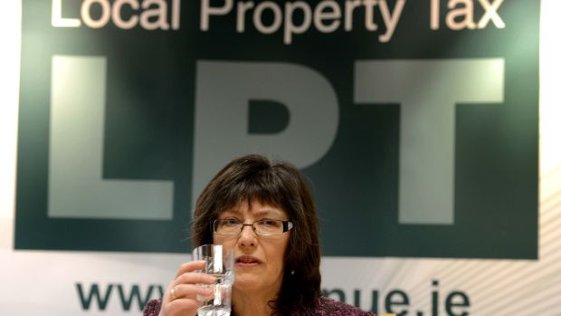 Then revenue chairwoman Josephine Feehily speaking at a briefing by Revenue on the Local Property Tax in 2013.