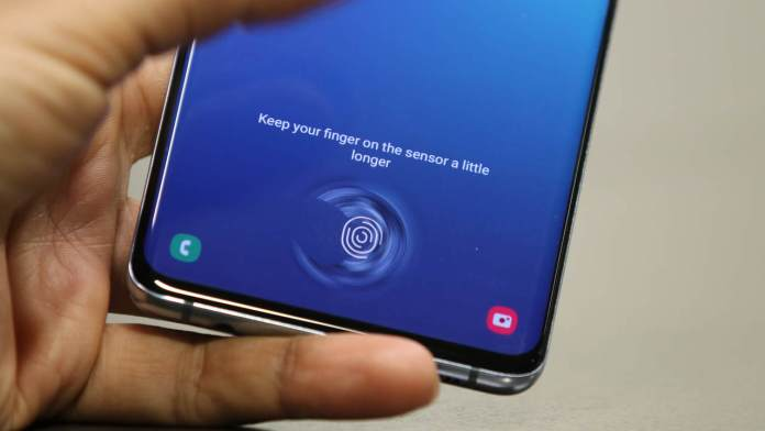 Samsung Galaxy S10 users receive urgent security update for the fingerprint scanner