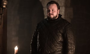 No time left for pleasantries ... Samwell Tarly (John Bradley).