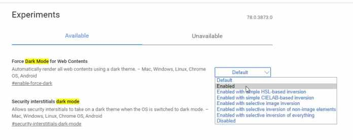 How To Force Dark Mode on all Web Pages in Google Chrome