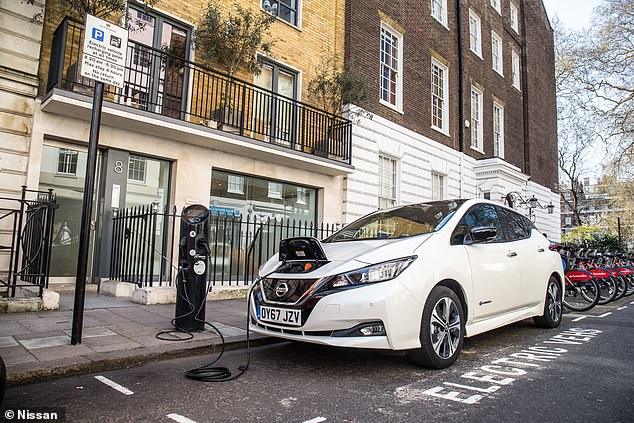 Low emissions; slow depreciation: With the help of valuations experts CAP, we've named the electric cars on the market that retain the most value after 2 years. Where does the Nissan Leaf (pictured) feature? Find out below