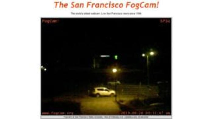 Fogcam home page