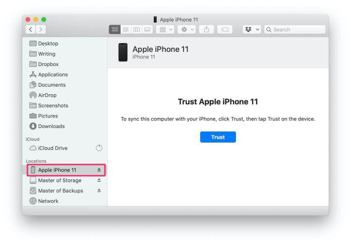 iphone-11-in-finder-app